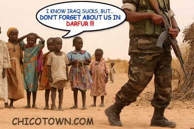 War in darfur essay